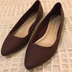 Christian Siriano Purple Pointed Toe Flats